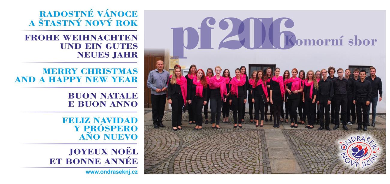PF2016 Komorní sbor